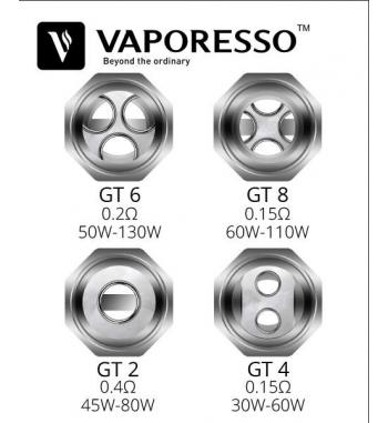 Vaporesso GT 4 Resistencia