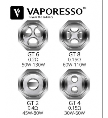 Vaporesso GT 8 Resistencia