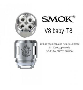 Smok V8 BABY T8 Resistencia