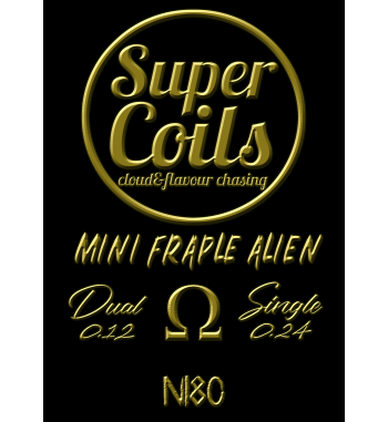 MINI FRAPLE ALIEN Super Coils