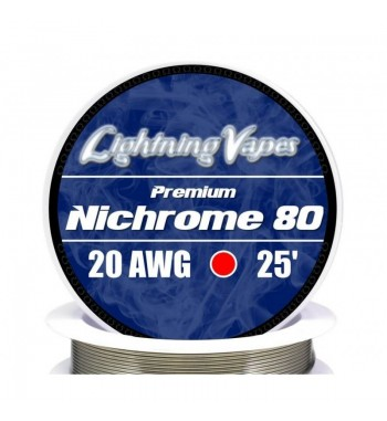 Lightning Vapes NICHROME 80 25'