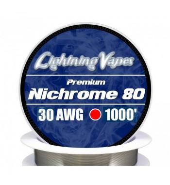 Lightning Vapes NICHROME 80 1000'