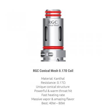 Smok RPM80 RGC Resistencia